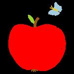 Apfel Schmetterling Babys
