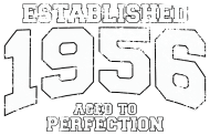 Jahrgang 1950 Geburtstagsshirt: established 1956 - aged to perfection