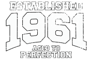 Jahrgang 1960 Geburtstagsshirt: established 1961 - aged to perfection