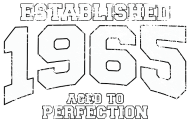 Jahrgang 1960 Geburtstagsshirt: established 1965 - aged to perfection