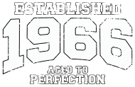 Jahrgang 1960 Geburtstagsshirt: established 1966 - aged to perfection
