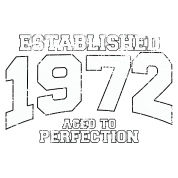 established 1972 - aged to perfection (it)
