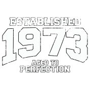 established 1973 - aged to perfection (uk)