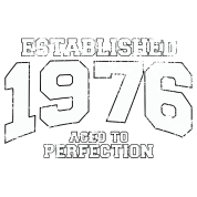 established 1976 - aged to perfection (uk)