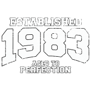 established 1983 - aged to perfection (uk)