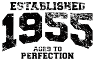 Jahrgang 1950 Geburtstagsshirt: established 1955 - aged to perfection
