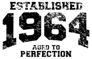 Jahrgang 1960 Geburtstagsshirt: established 1964 - aged to perfection