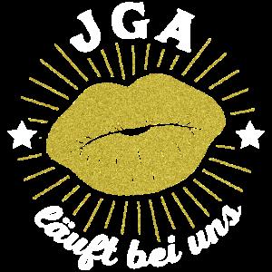 JGA läuft bei uns - Vintage Gold Frauen