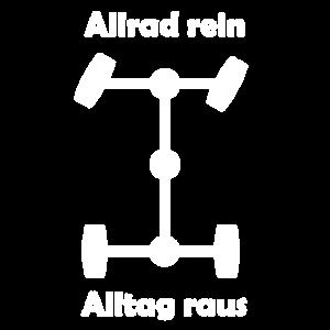 Allrad weiß / 4WD white