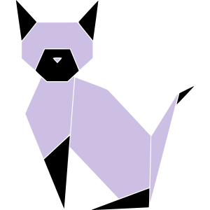 Geometrie Katze