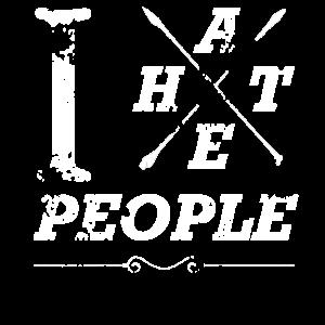 I HATE PEOPLE / Ich hasse Menschen Geschenk-Idee