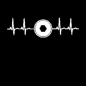 Puls - Fotografenshirt für Fotografen, Fotoshirt