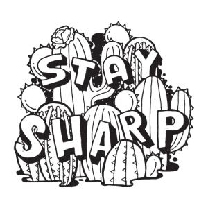 Stay Sharp - Cactus