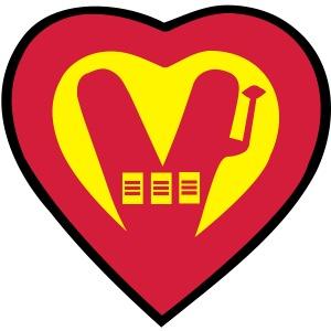 super vegan heart