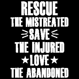 Tierschutz Tierschützer Tshirt