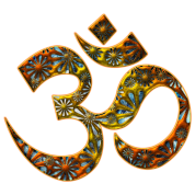 OM (AUM - I AM) - Sacred Symbol, manifestation of spiritual strength, The energy symbol gives  peace and bliss