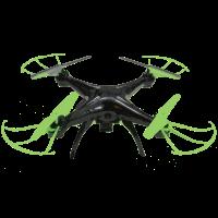 Drohne - schwarz/gruen