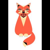 Katze Illustration