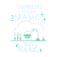 Chemistry is Like Magic But Real Chemiker Shirt