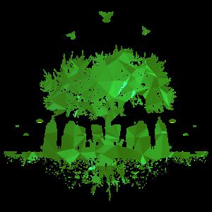 Nature Is Better - Mutter Natur Baum Wurzeln Leben