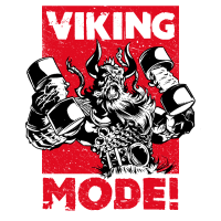VIKING MODE! Muscle and Strength - Fitness Design