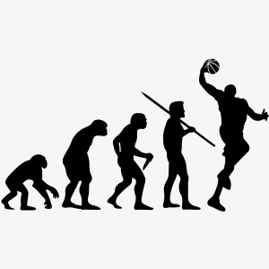 Evolution of Man - Basketball