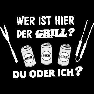 Grill und Bier