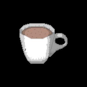 Tasse Kakao Pixelart