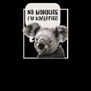 Koala Spruch Party Geschenk Zoo Sohn Tochter Tier
