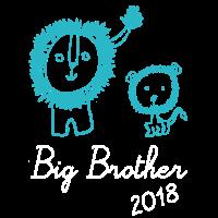 Löwe Grosser Bruder Großer Bruder 2018 T-Shirt