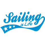 sailing is life - retro