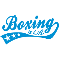 boxing is life - retro