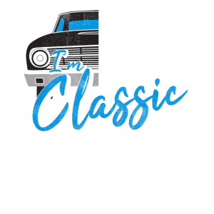 I'm not old-T-Shirt-Oldtimer-altes Auto-jung bleib