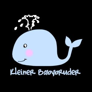 Kleiner Bruder Motiv Blauwal