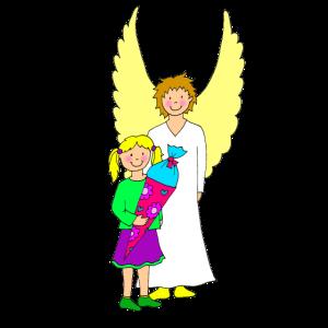 Schulanfang Motiv Engel