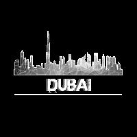 Dubai Sykline grau