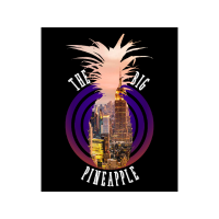 Lustiges T-shirt NYC The Big Apple - Pineapple