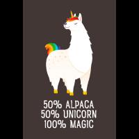 50% Alpaca, 50% Unicorn, 100% Magic