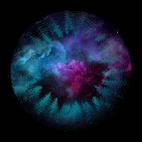 Auge des Universums