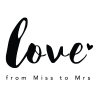 Braut Design from Miss to Mrs by Constant Love®