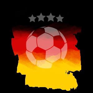 Deutschland Fußball Fan
