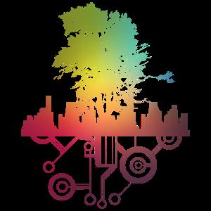 Urban Tech Nature - Baumkrone Lebensraum Strahlung