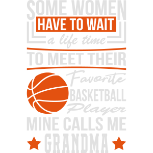 Some Women Basketball Player Grandma