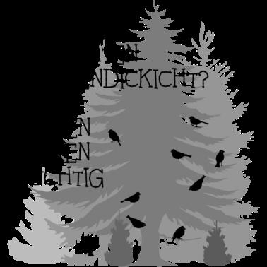 finken fink zungenbrecher spruch sprüche wald bäume baum dick
