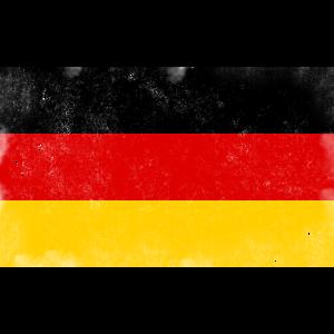 Deutschland Vintage Fahne