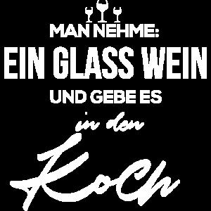 Wein Koch Rotwein Weißwein Kochkurs Geschenk Hobby