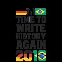 Fan T-Shirt Deutschland - Write History