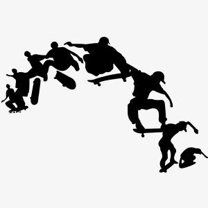 Skateboarder #6