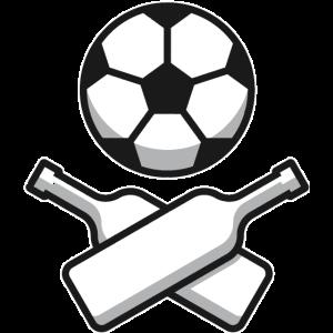 Fussball Skull & Bones
