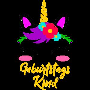 Geburtstagskind Einhorn Geburtstag Geschenk